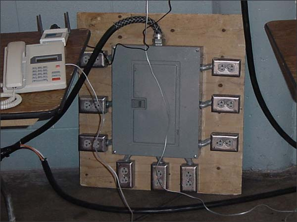 Of A 100 Amp 4 Wire Feeder Circuit Sub Panel For A Remote Building